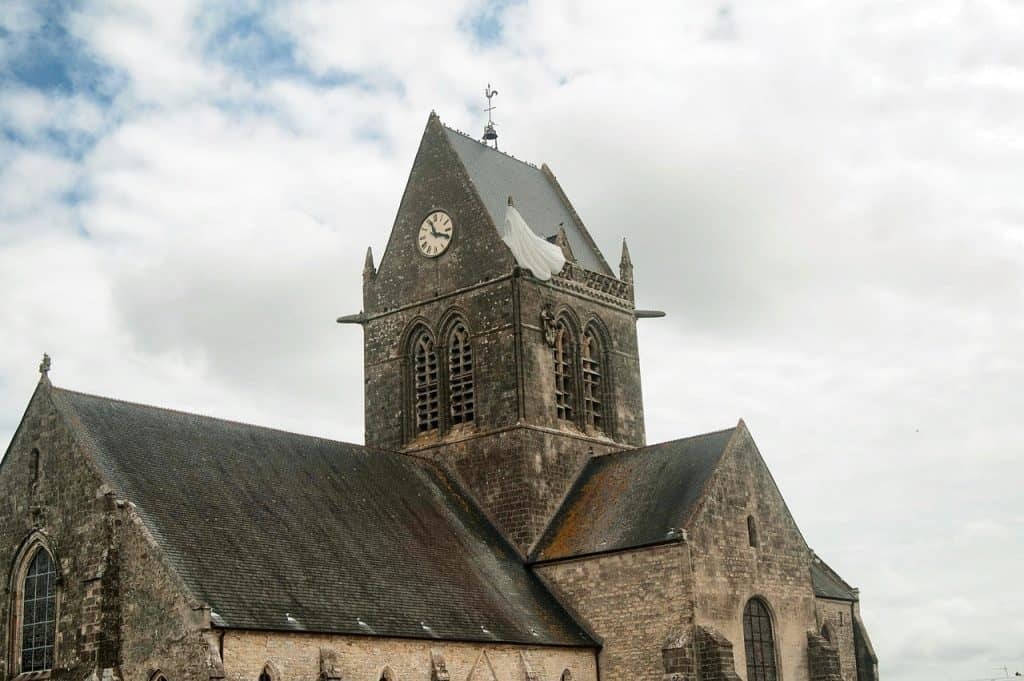 75th Anniversary of D-Day - John Steele tribute Saint Mere Eglise